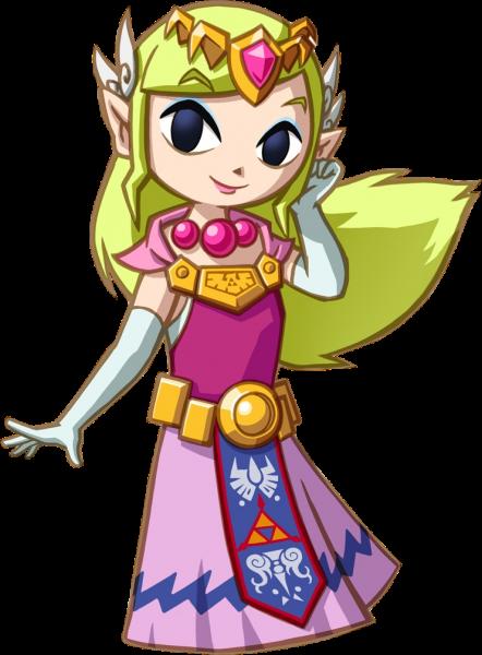Spirit Tracks Princess Zelda by ToonPrincessZelda43