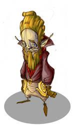 The lil beard man by Yakyo