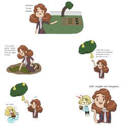 Sandy, the vegetarian