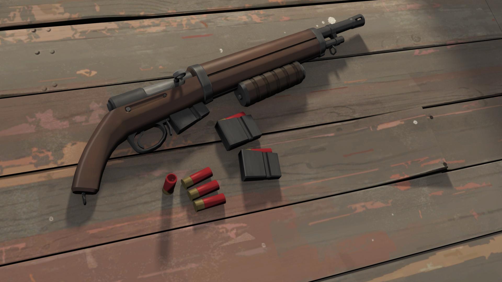 TF2 Pump Shotgun Wallpaper by JoshuaMK2 on DeviantArt