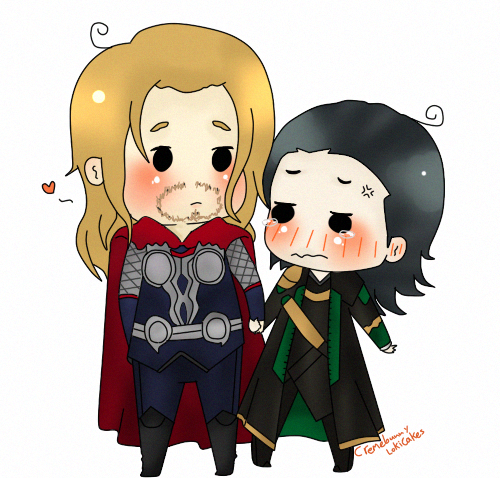 Thorki Cheeb thing by Cremebunny