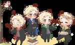 Chibi Draco - House Spirit!