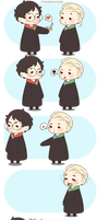 Chibi Drarry - Love you too