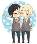 Chibi Drarry - Peace~