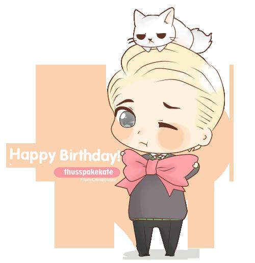 Happy birthday, Kitty! by Cremebunny