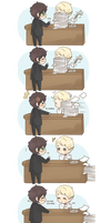 Chibi Drarry - Office Romance