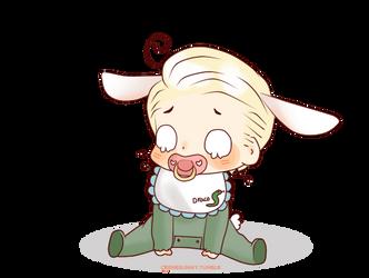 Baby Bunny!Draco by Cremebunny