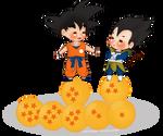 [Non HP] Chibi Goku/Vegeta