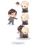 Chibi Drarry  Miss you