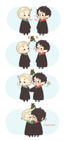 Chibi Drarry - Smoochies