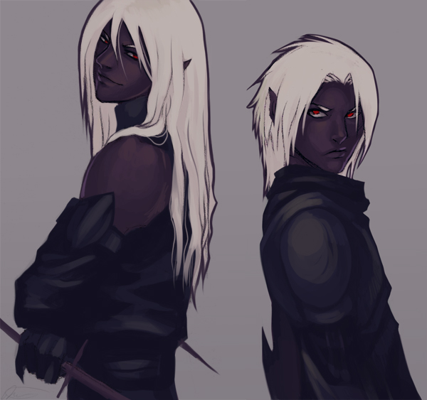 Drow Brothers By Altana On Deviantart