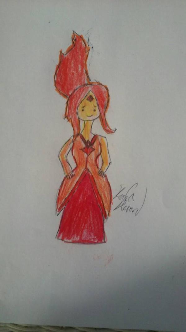 Flame Princess by karutimburtonfan