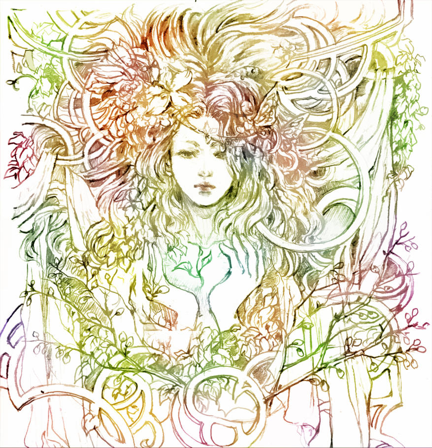mother nature by chibi oneechan