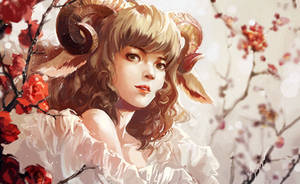 Goat by chibi-oneechan