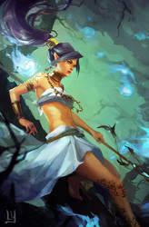 Chasing spirits by chibi-oneechan