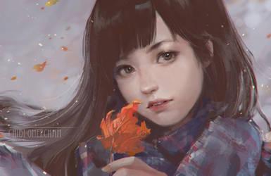 Fall by chibi-oneechan