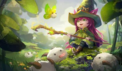 Little Leprechaun Lulu by chibi-oneechan