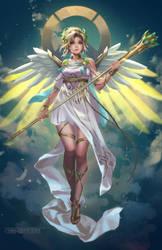 Victory Goddess Mercy by chibi-oneechan
