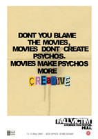 D+AD - Horror Posters - 2 by rlockley