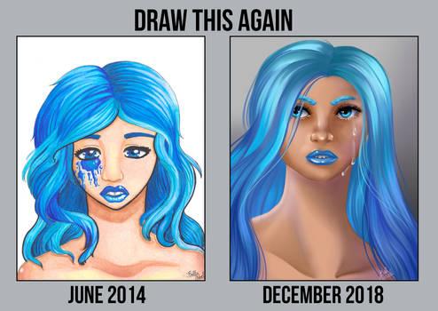 Draw This Again: Blue