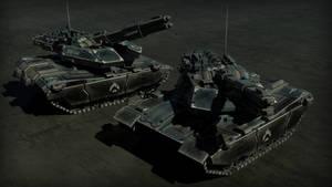 XM44 Sabretooth - HQ Render