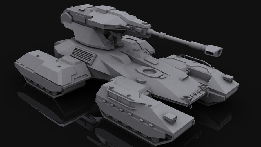 M808B 'Scorpion' Main Battle Tank by Helge129