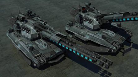 Pzh-3000A2 Hades by Helge129