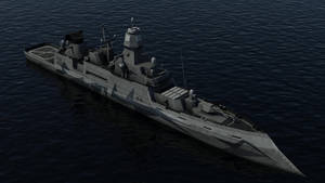 Guided Missile Destroyer -WIP