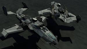 AF-719 'Wyvern' Gunship