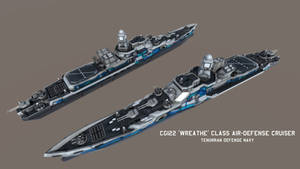 TDN CG122 'Wreathe' class Air-Defense Cruiser by Helge129