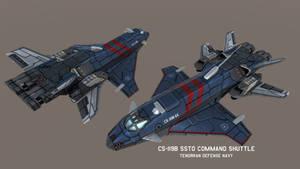 CS-119B SSTO/Command Shuttle