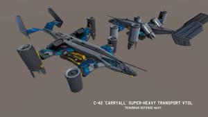 C-42 'Carryall' Super-Heavy Transport VTOL