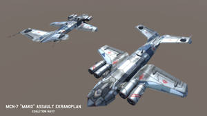 MCN-7 'Mako' Assault Ekranoplan