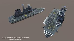 CLC-4 'Hornet' class Helicopter Cruiser