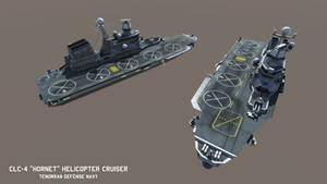 CLC-4 'Hornet' class Helicopter Cruiser by Helge129