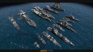 Ardent Seas - Unit Roster - TDN Ships by Helge129