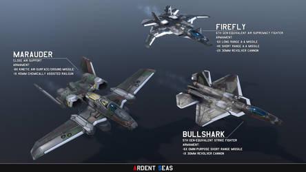 Ardent Seas: TDN Aircraft