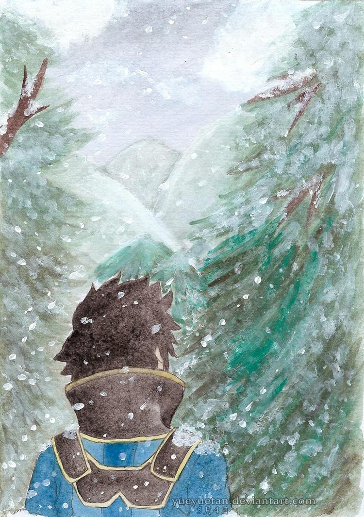 Snowfall by yueyuetan
