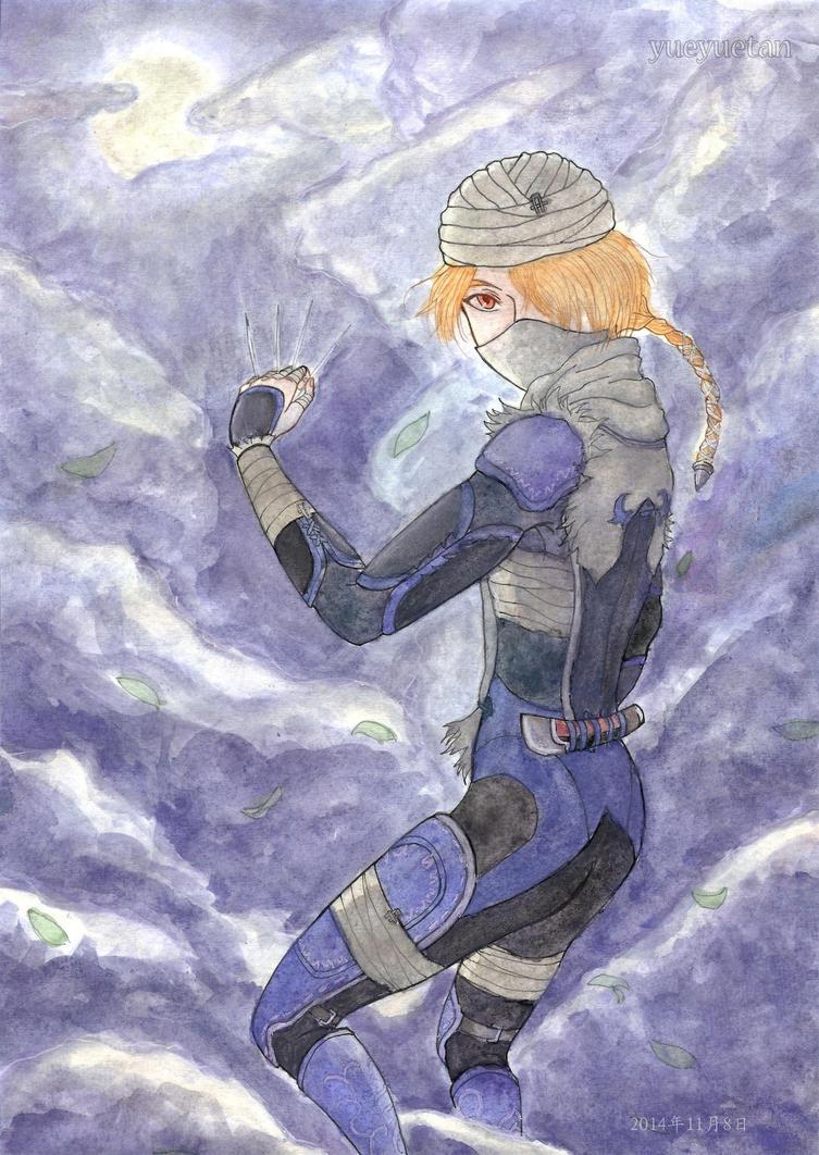 Moonlight Warrior by yueyuetan