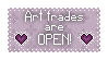 Art trade status - Open by Chasing--Echoes