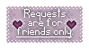 Request status - Friends only by Chasing--Echoes