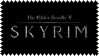 Skyrim fan stamp by Chasing--Echoes
