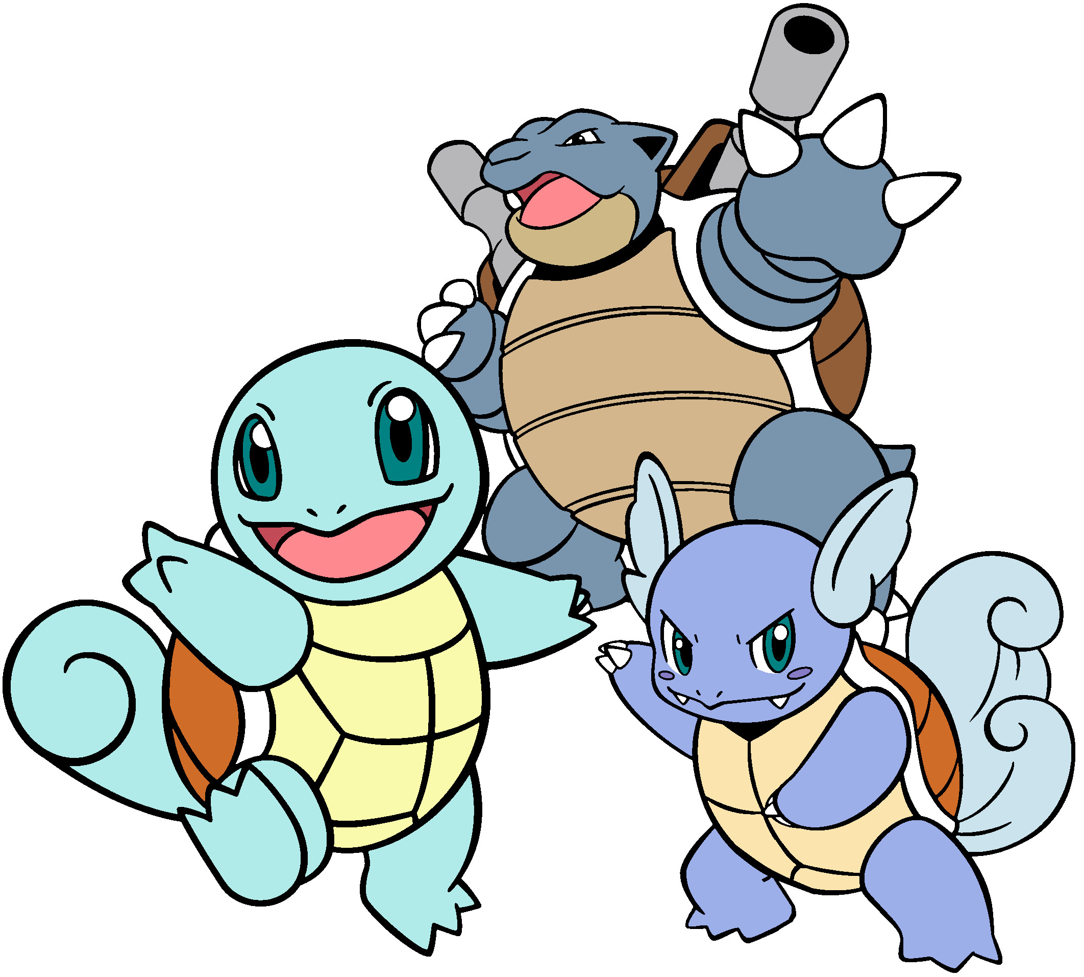 Squirtle evolution names images for Immagini bulbasaur