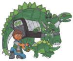 Jurassic Patrol Green Ranger