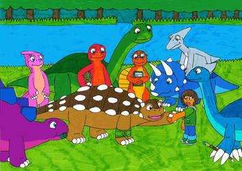 Mattias The New Dinosaur story by MCsaurus