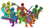 PRJP Gallimimus Riders