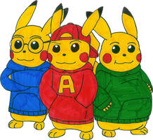 Alvin and the Pikachus by MCsaurus