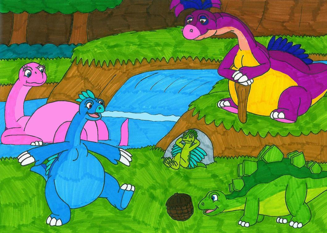 Bellisaurs Adventures 02 by MCsaurus