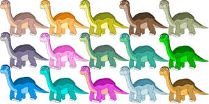 Longneck Apatosaurus