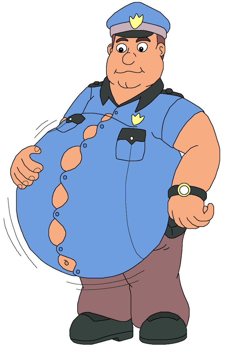Officer Wembley Eat Too Much Food By Mcsaurus On Deviantart